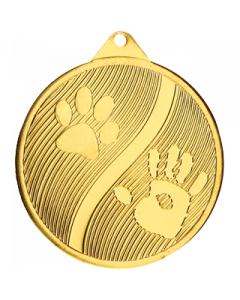 Medal Paw motif 50mm
